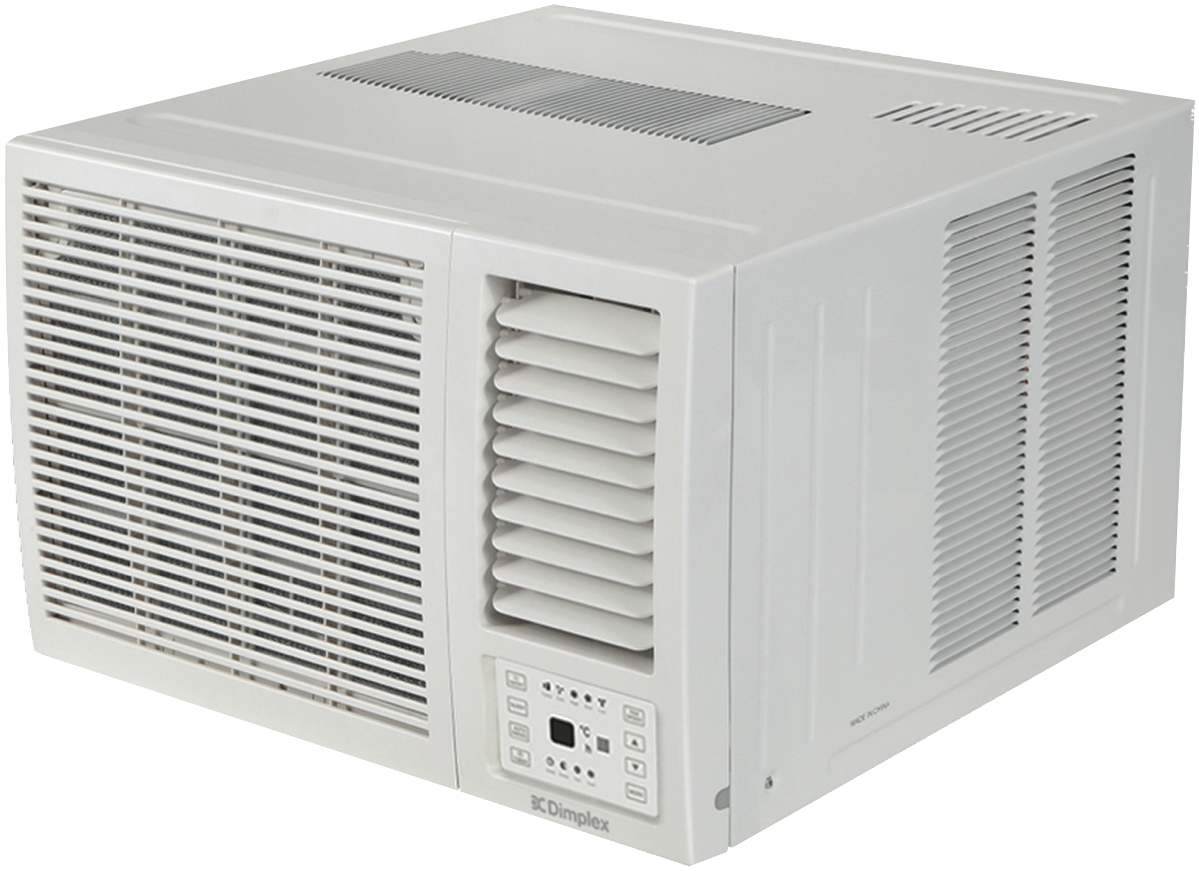 hidden-Dimplex C2.6kW H2.4kW Reverse Window Box Air Conditioner