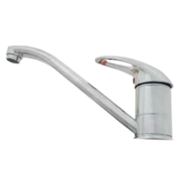 Long 220mm Flick Mixer Tap