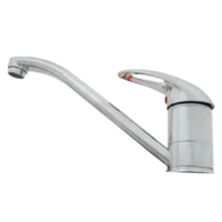 NCE Long 220mm Flick Mixer Tap