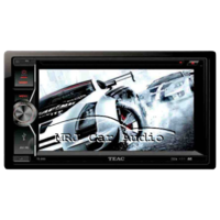 "TEAC Double DIN 6.2"" DVD/CD Player with Bluetooth"