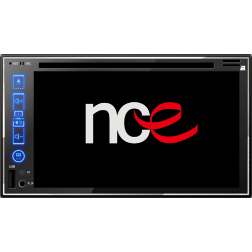 NCE DVD/CD Player with Touchscreen and Bluetooth